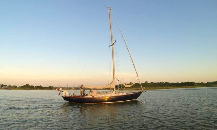 "Charter 41ft ""Southern Cross"" Cruising Monohull In Lewisville, Texas"