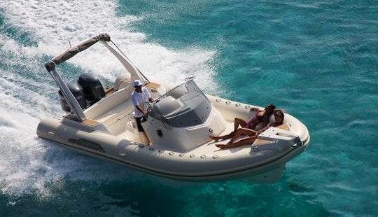 Capelli 850 300hp Rib Rental In Bonifacio