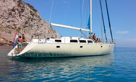 Charter Voyager Dreams 70 Sailboat In Ibiza