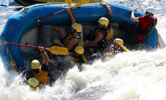 White Water Rafting On Ottawa River