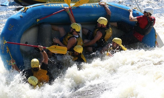White Water Rafting On Ottawa River