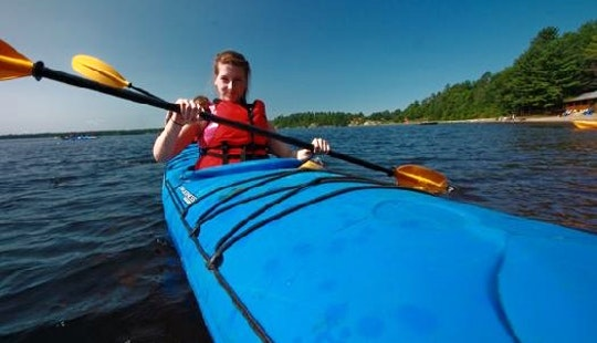 Sea Kayak Tour In Ontario