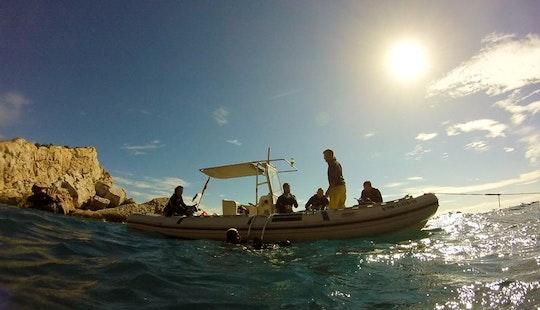 Boat Diving In Altea