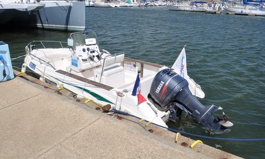 'funny' Boat Center Console Trips In Leucate