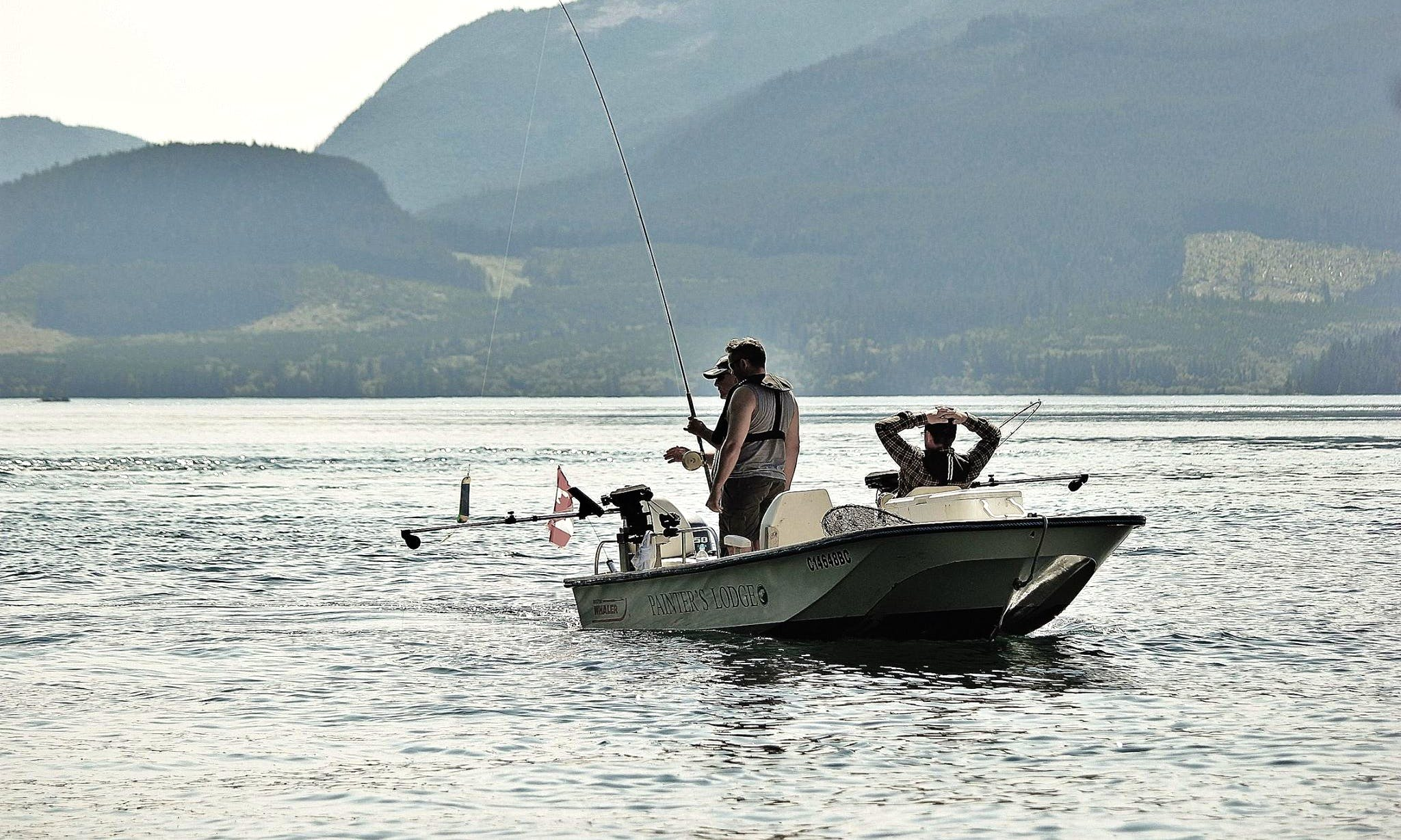 17' Boston Whaler Salmon Fishing Chater in Canada