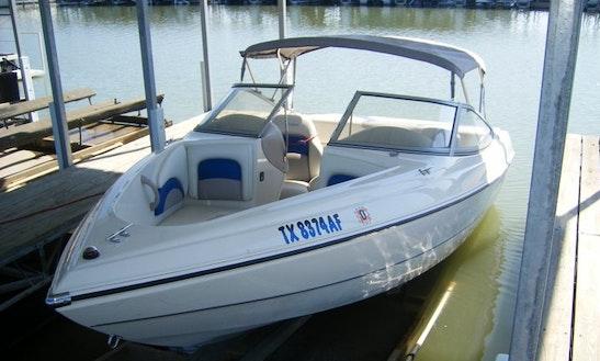 19' Ski Boat Rental On Lavon Lake