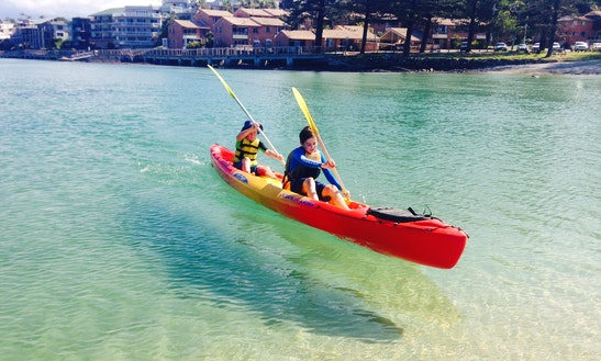 Hire Double Kayak In Kingscliff