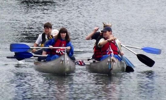 Guided 3 Seater Canoe Trips In Bursledon, United Kingdom