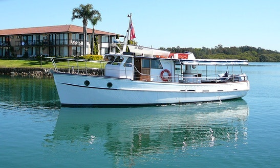 Passenger Boat Trips In Port Macquarie, Australia