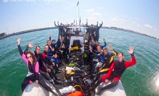 Dive Boat In Rimini