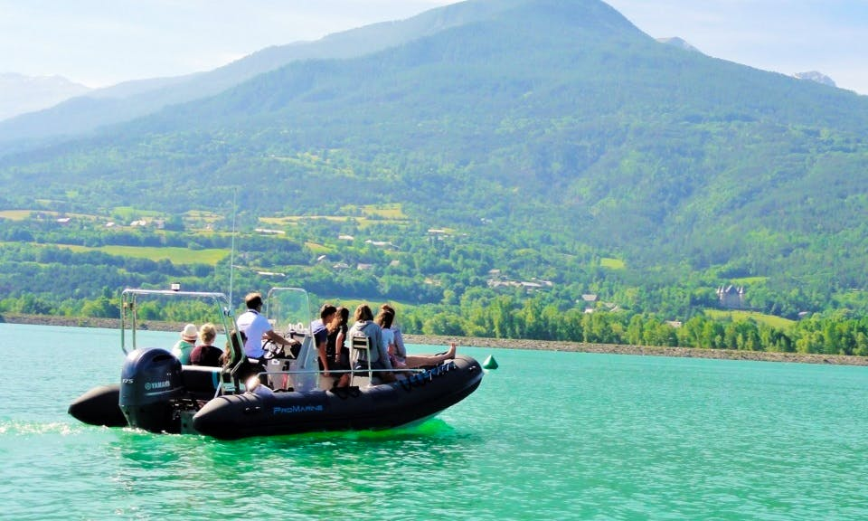 Boat Tour on the Lac de Serre Ponçon