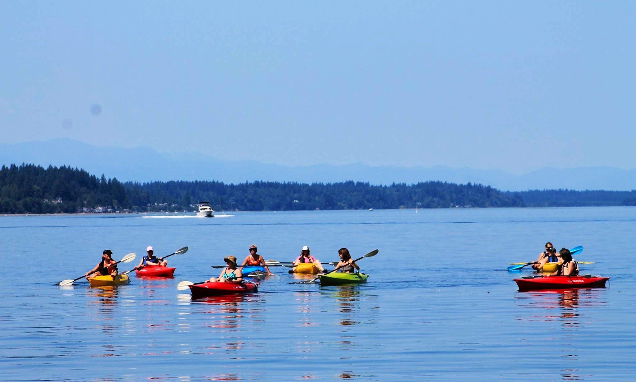 Reserve Single Kayak in Tacoma, Washington