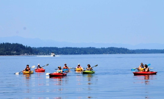 Reserve Single Kayak In Tacoma, Washington