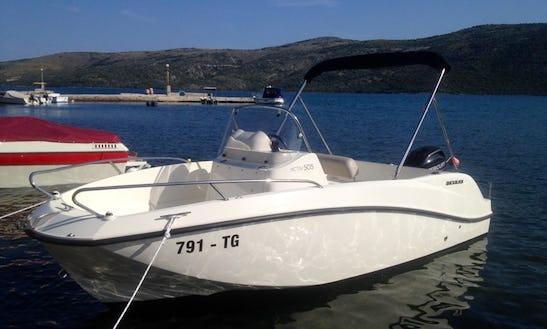 2015 Quicksilver 505 Activ Deck Boat Rental In Trogir, Croatia