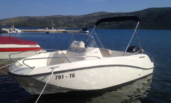 2015 Quicksilver 505 Activ Deck Boat Rental In Trogir, Croatia