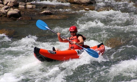 Single Kayak Rafting Trips In Harpers Ferry