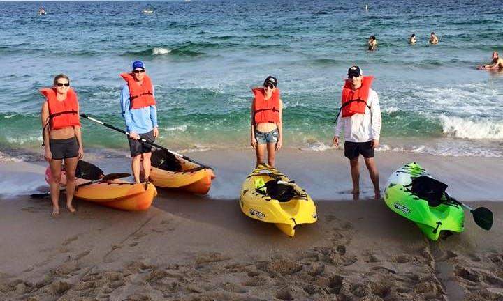 Single Kayak Rental in Lauderdale-by-the-Sea, Florida