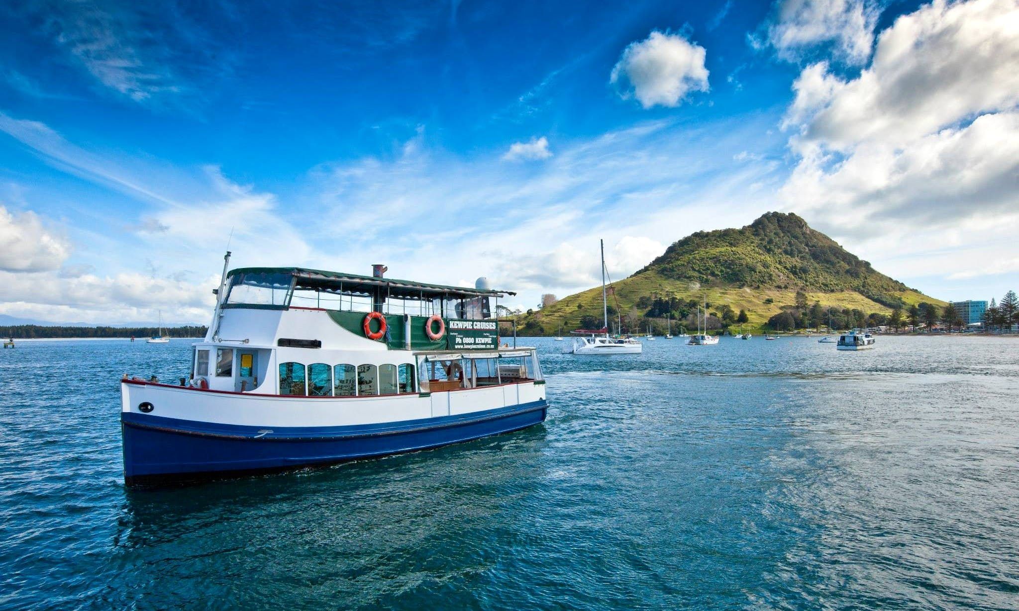 'Kewpie' Boat Scenic & Corporate Cruises in Tauranga