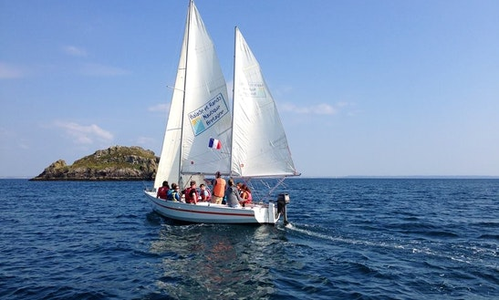 'ker Atao' Ketch Sailboat Trips In Crozon