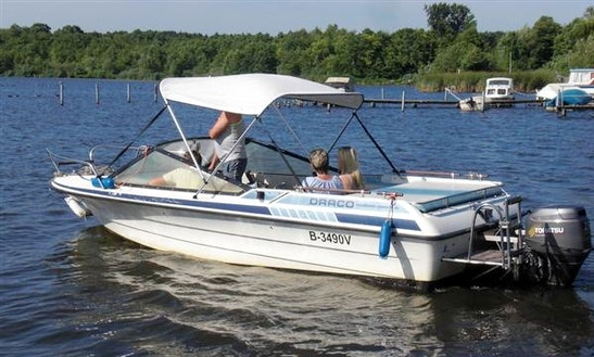 'draco' Sport Boat Hire In Heidesee