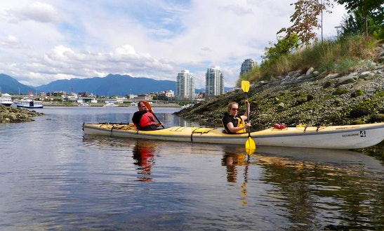 Double Kayak Rental, Lessons  Tours In Vancouver