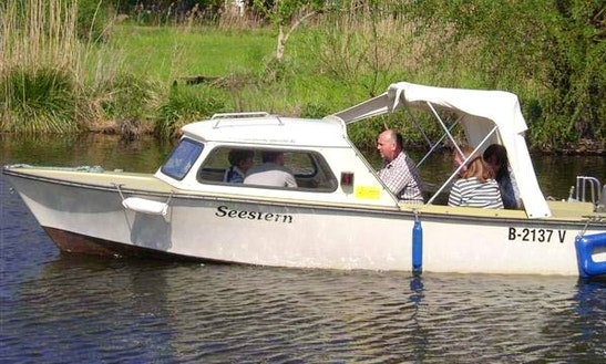'starfish' Deck Boat Hire In Heidesee