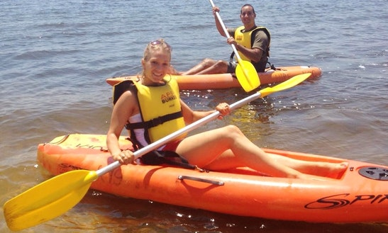Single Kayak Hire In South Perth