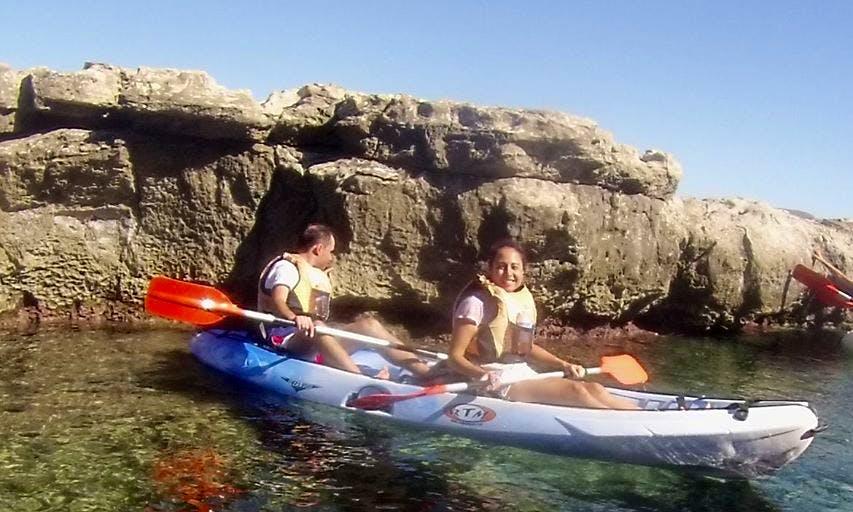 Half Day Tandem Kayak Rental in Níjar, Spain