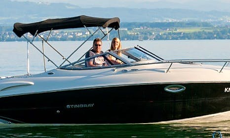 Rent the Stingray 250 CR  Yacht In Immenstaad am Bodensee, Germany