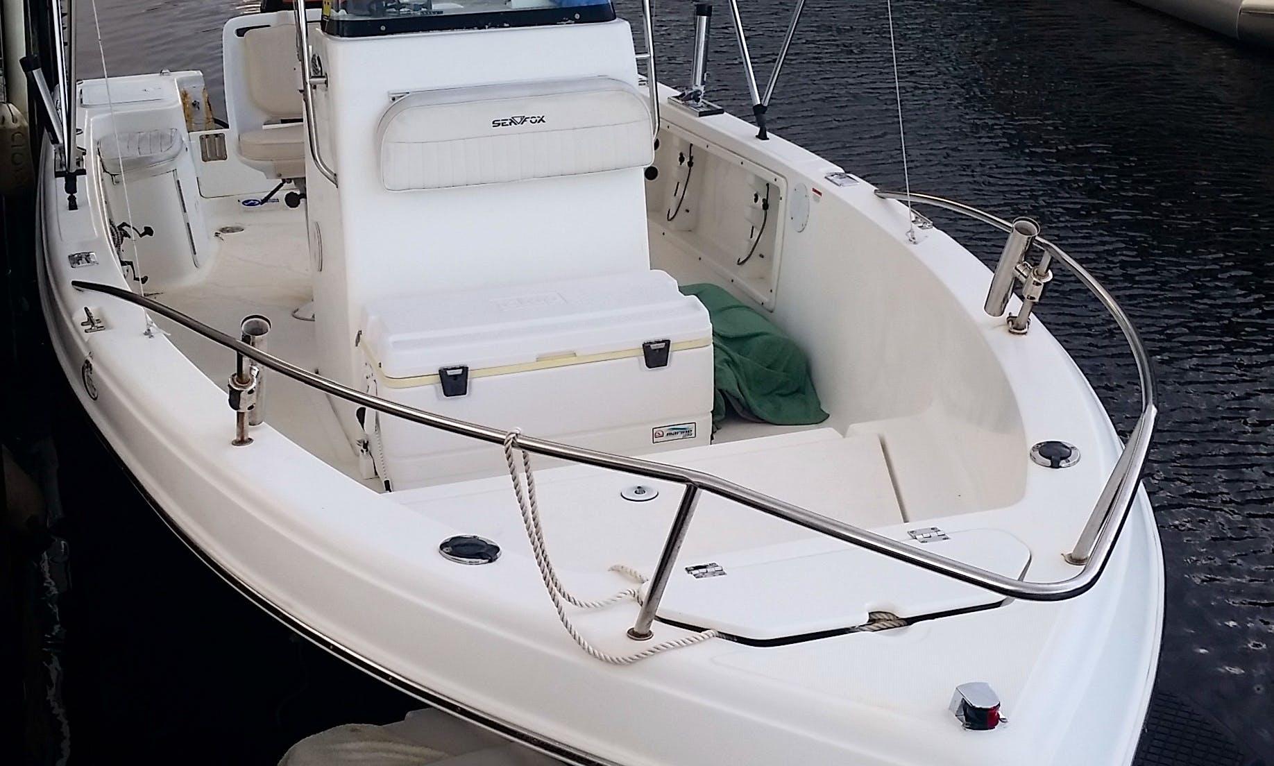 Center Console Boat Rental In Pompano Beach, Florida