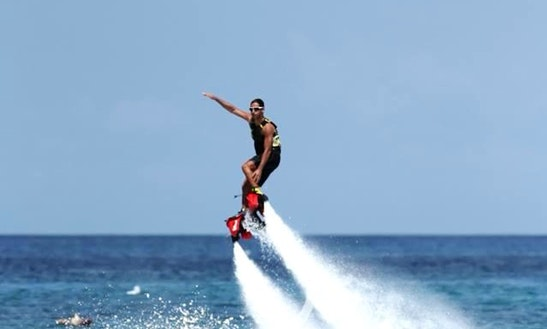 Flyboard In Bayahibe, Dominican Republic