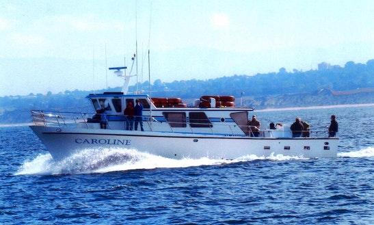Charter 65' Trawler In Monterey, California
