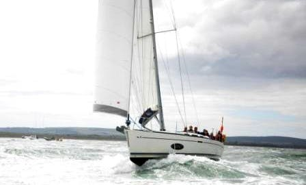 """Charter on Dufour 40 """"Event"""" Sailboat in Southampton"""