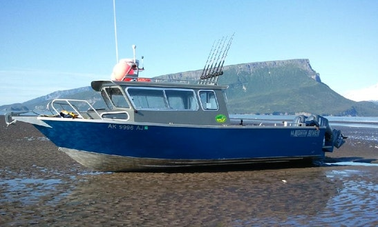 Fishing Charter For 6 Person In Ninilchik, Alaska With Captain Al