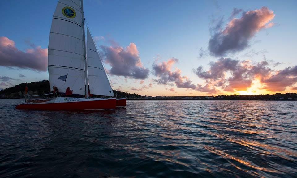 27' Cruising Catamaran Trips in Crozon, France
