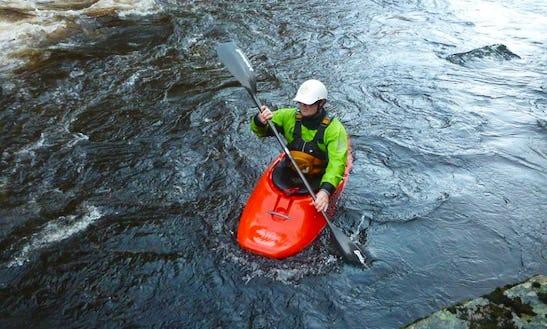 White Water Kayak Lessons In Aviemore
