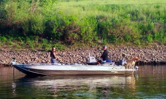 Jon Boat Guide Fishing Trips In Yuba City