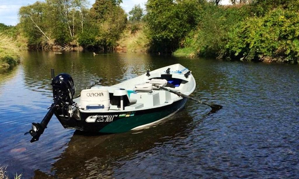 Guided drift boat fishing trip on columbia river getmyboat for Drift boat fishing