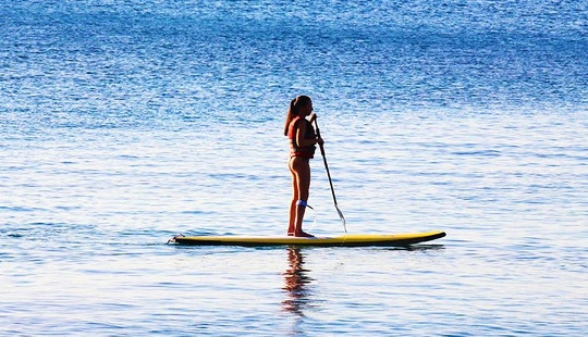 Stand Up Paddleboard Rental In Rodos