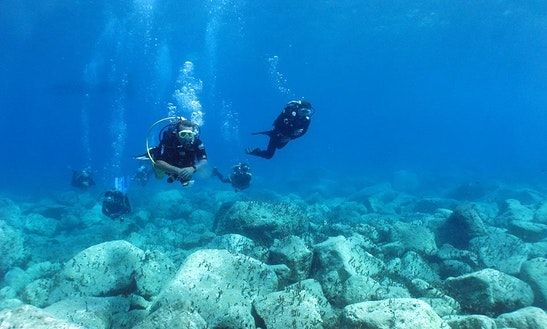 Boat Diving Trips, Course & Packages In Santorini