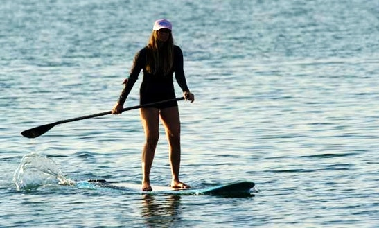 Stand Up Paddle Surfing In Marbella