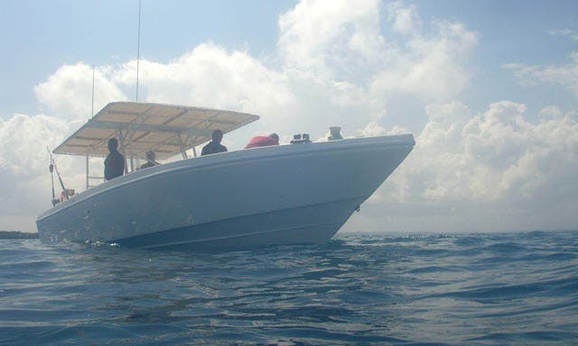 "37' Center Console ""Butterfly"" Fishing Trips in Kizimkazi, Tanzania"