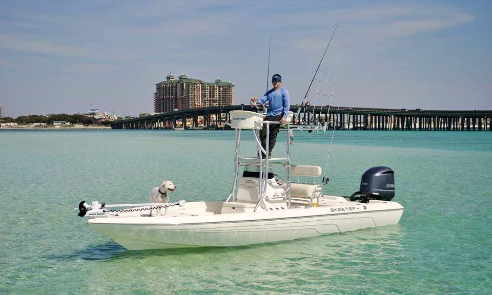 24' Skeeter Bass Boat In Fort Walton Beach Florida, United States