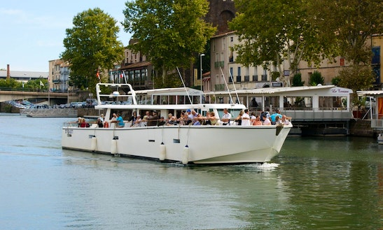 'millésime' Boat Cruises In Agde