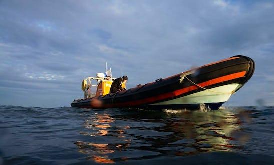 33' Dive Boat In Queen Annes Battery