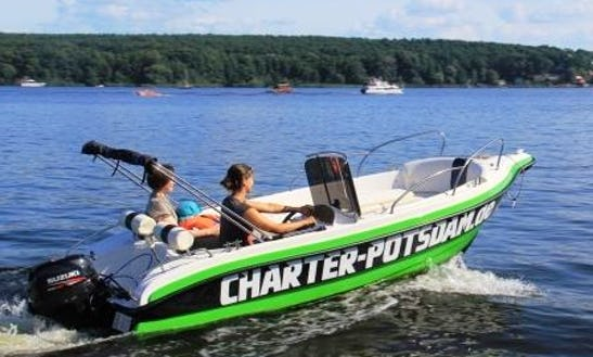 Rent Fun 470 Powerboat In Potsdam
