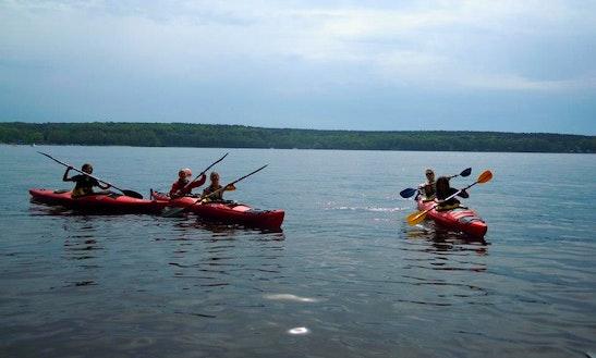 Double Kayak Rental In Potsdam