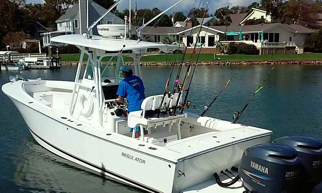 Center console fishing trips in virginia beach virginia for Fishing trips in virginia