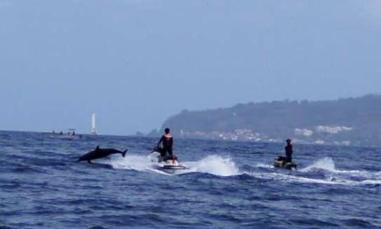 Jet Ski Cruising In Plage Du Coin 97721 Le Carbet, Martinique