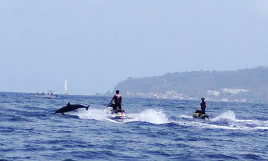 Jet Ski Cruising In Plage Du Coin 97721 Le Carbet, Martinique
